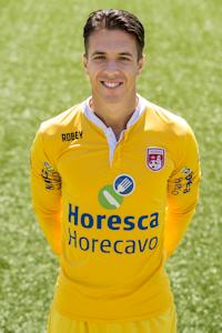Mike van Vliet ook volgend jaar in Noordwijk onder de lat