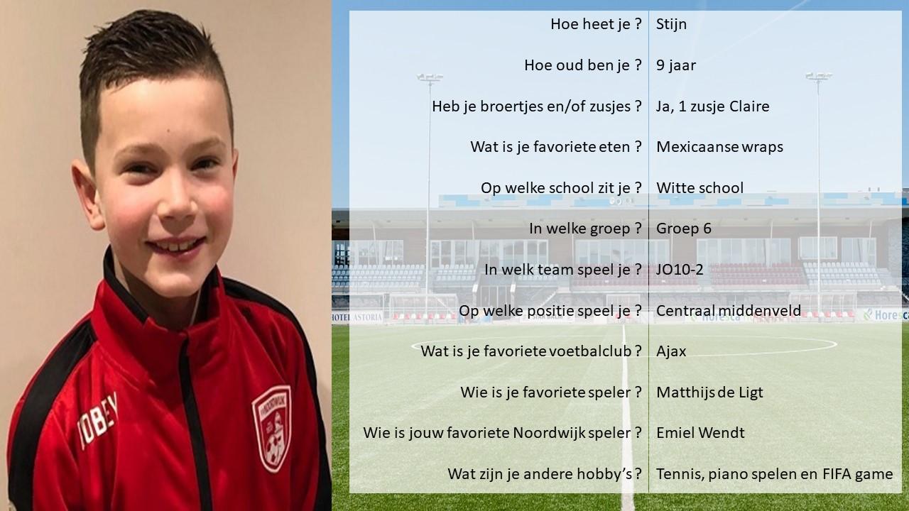 Pupil van de week bij Noordwijk-De Dijk: Björn 1