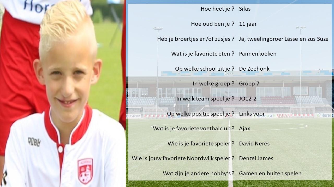 Pupil van de week bij Noordwijk-SteDoCo: Stijn
