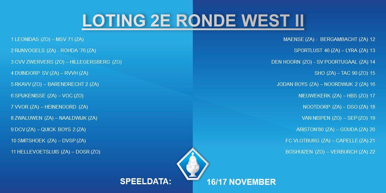 Loting Districtsbeker Noordwijk 2