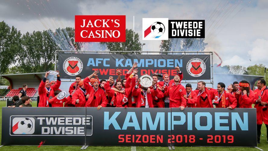 Tweede Divisie heet voortaan Jack's League
